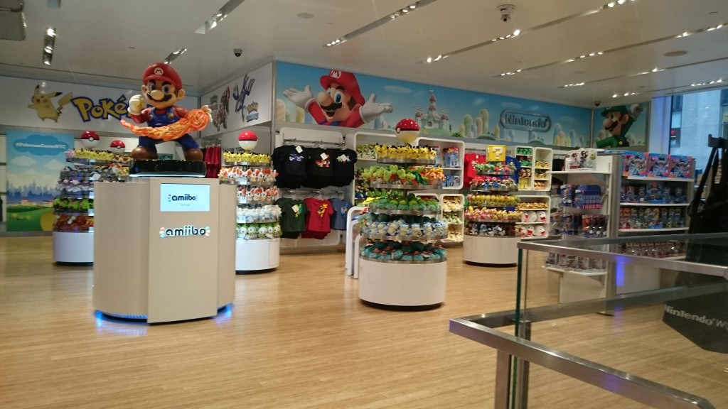 2nd Floor at Nintendo World Store