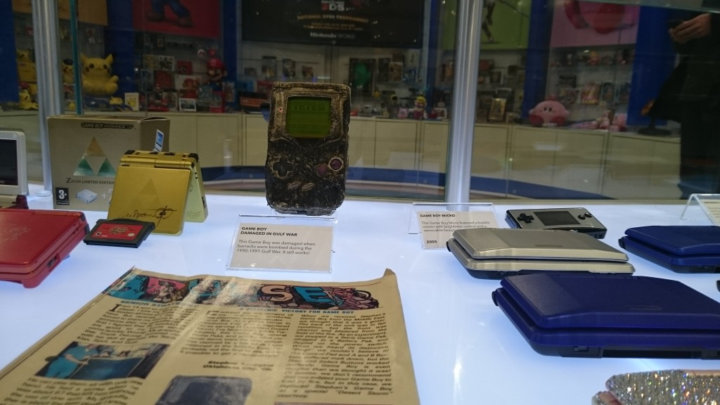 This gameboy survived an attack, it still runs Tetris to this day