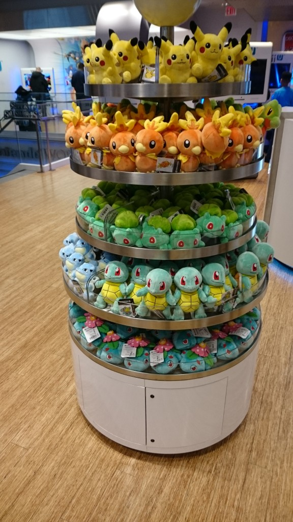 Plenty of starter plushies