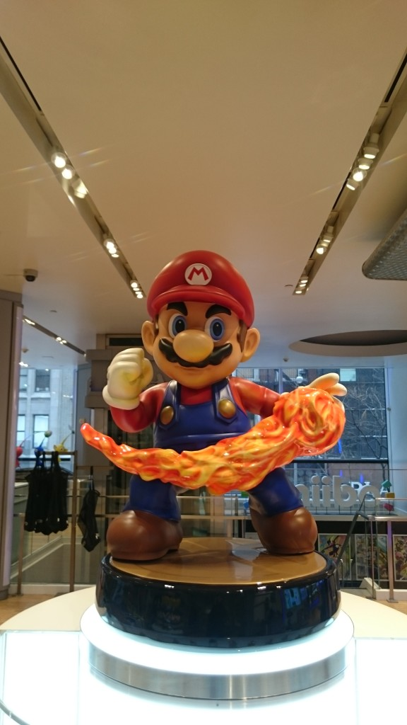 Huge Mario Amiibo