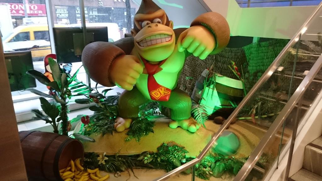 Donkey Kong statue